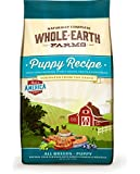 Whole Earth Farms Puppy Recipe Dry Dog Food, 5-Pound