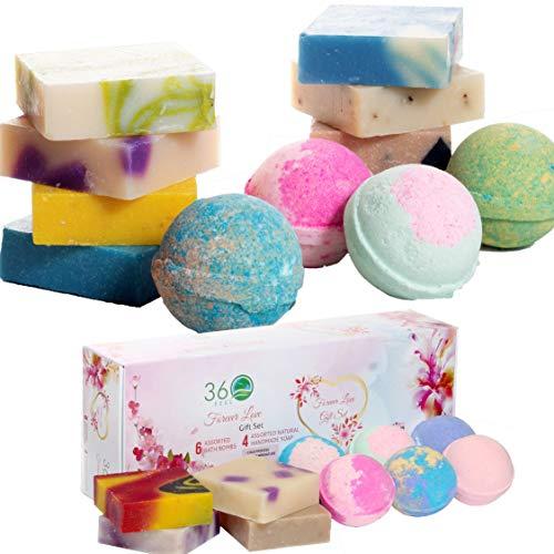 Bath Bombs Lush Handmade Soap Gift Set Assorted 360Feel Forever Love