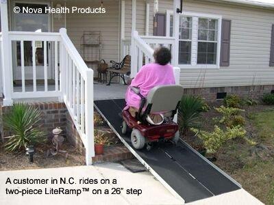 Beau Amazon.com: 6 Foot Double Fold Literamp Detachable Portable Wheelchair Ramp:  Health U0026 Personal Care