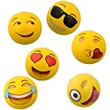 "Emoji Universe: 18"" Emoji Inflatable Beach Balls, 6-Pack"