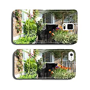 Mix of beautiful vivid terrace flowers cell phone cover case iPhone6