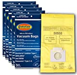 Appliances : EnviroCare Vacuum Bags to fit Kenmore Canister Type C. 5055, 50557 and 50558 Panasonic Type C-5 Models 15 pack