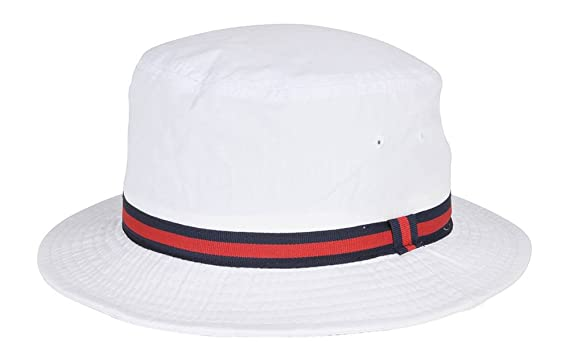 701b58e3c Scala Classico Rain Hat - Bucket Hat by Dorfman Pacific, White L