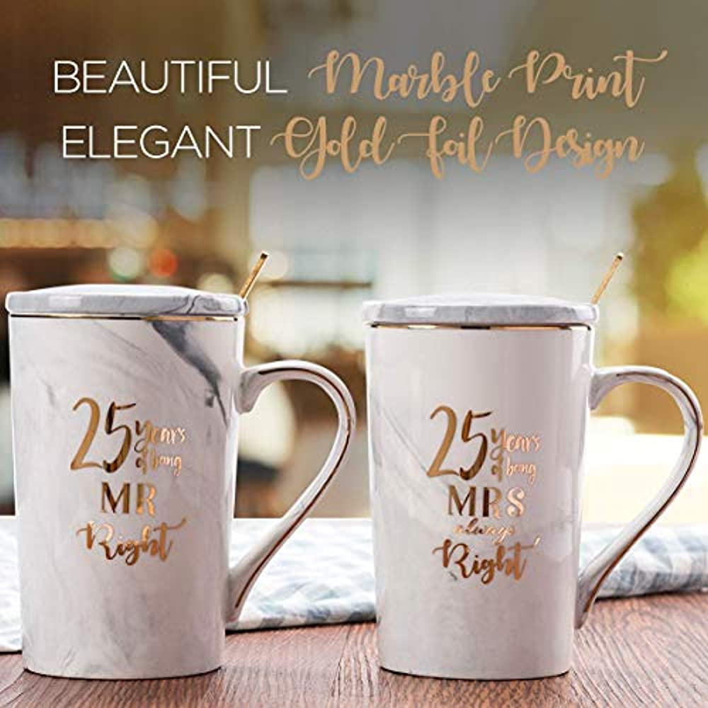 25th Wedding Anniversary Gifts, For Couple, For Husband
