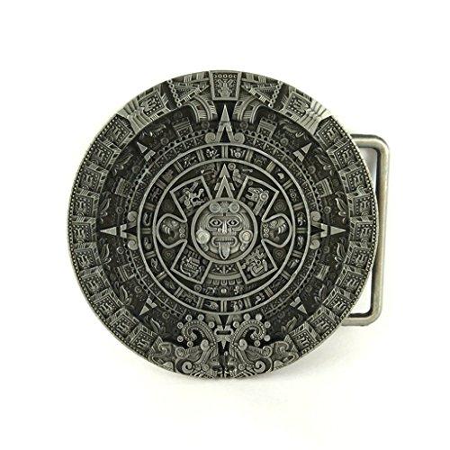 Belt Buckle - Aztec Calendar ()
