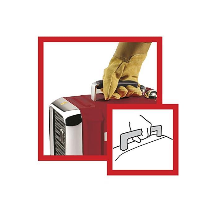 51JWhwMnvqL Componentes incluidos: 1 ventilador Opción de 2 posiciones de calor: 1100 y 1800 vatios Tecnología de calefacción cerámica con termostato variable para garantizar una temperatura ambiente constante