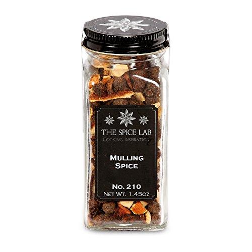 The Spice Lab No. 210 - Mulling Spice - All Natural Kosher Non GMO Gluten Free Spice - French Jar ()
