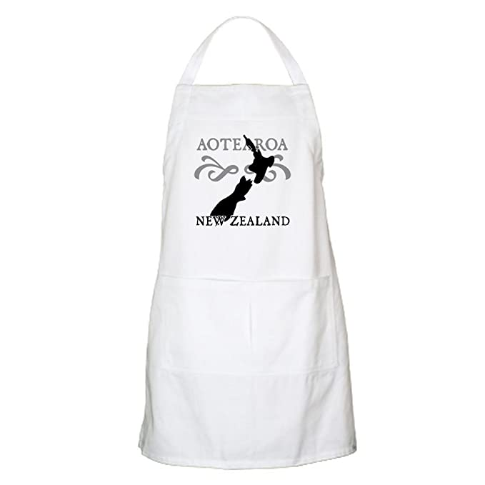 Amazon Com Cafepress Aotearoa New Zealand Apron Kitchen Apron With