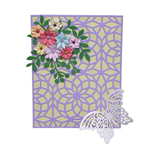 Flower Die Cut,iHPH7 Hearts Metal Cutting Dies Stencils DIY Scrapbooking Album Paper Card Making 807