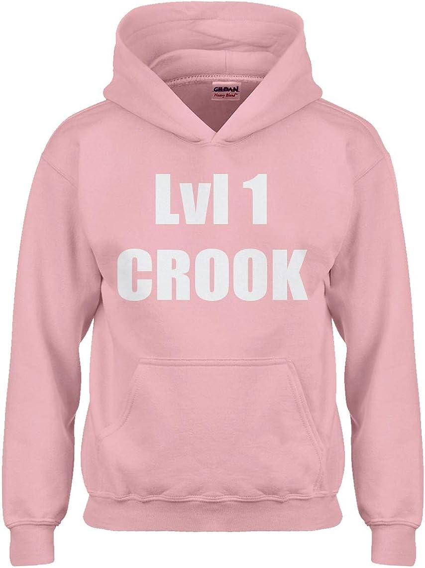 Lvl 1 Crook Hoodie for Kids