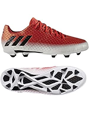 Jr Messi 16.1 Fg Red/Cblack/Ftwwht Soccer Shoes - 5.5Y