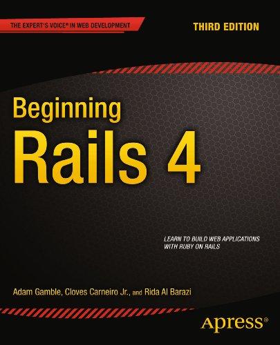 Download Beginning Rails 4 (Expert's Voice in Web Development) Pdf