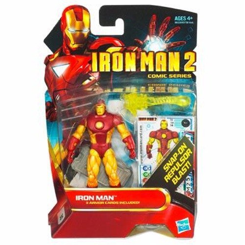 - Iron Man 2 Comic Series 3.75 inch Action Figure - Iron Man #30