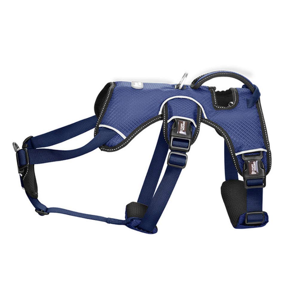 bluee S bluee S No Pull Dog Harness,Front Loading Pet Vest Harness Handle Strong,bluee,S