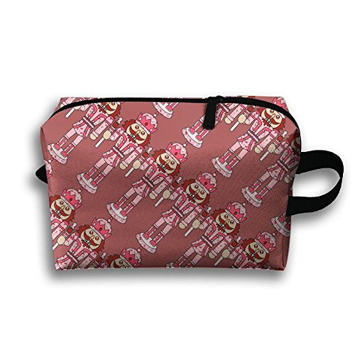 Ballet Nutcracker Cosmetic Makeup Bag Cosmetic Bag Womens Travel Bag Space Saving For Couple by Libra