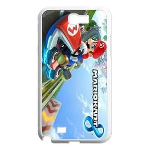 Samsung Galaxy N2 7100 Cell Phone Case White Mario Kart 8 SUX_014768