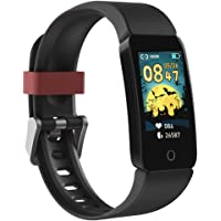 Poryoo Fitness Tracker Watch for Kids Girls Boys Teens, Waterproof Activity Tracker with Pedometer, Calories Counter…