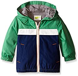 Crazy 8 Toddler Boys' Baby Green Color-Blocked Jacket, Fresh Kale, 5 Years