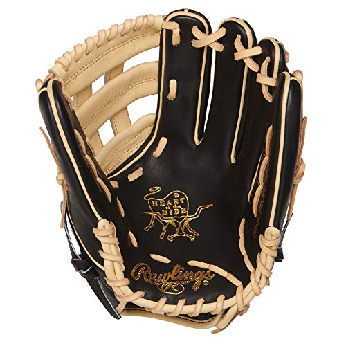 Rawlings PROR207-6BC Heart of The Hide - R2G, Black/Camel, 12.25