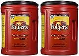 Folgers Coffee Classic IZAVD Roast, 48 Ounces (2 Pack)