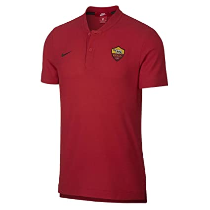 Nike 2018-2019 AS Roma Authentic Grand Slam Polo Shirt (Red ...