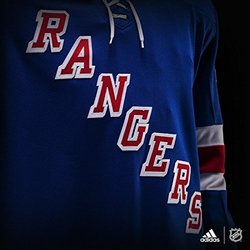 d21a776e7 adidas New York Rangers NHL Men's Climalite Authentic Team Hockey Jersey