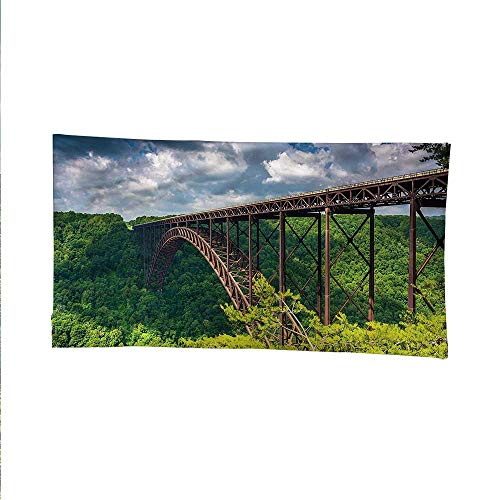 USAspace tapestrywall Hanging tapestryCanyon Rim Visitor Center Photo 72W x 54L Inch ()