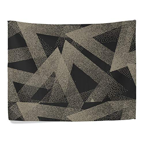 P-STAR Vector-Abstract-stippled-Weird-Hipster-Seamless Wall Hanging Tapestry Bedroom Living Room Beach Doorway Curtain Christmas Thanksgiving Day Decoration 60 X 40 Inch ()