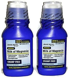 Original, Cramp Free, Milk of Magnesia (Pack of 2) - 12 fl
