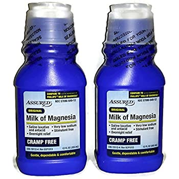 Original, Cramp Free, Milk of Magnesia (Pack of 2) - 12 fl oz