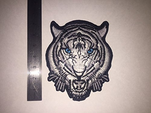 TIGRE GRIS THERMOCOLLANT ECUSSON PATCHES AUFNAHER TOPPA