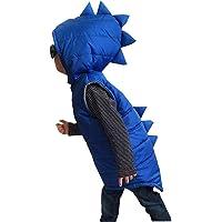 Carolilly - Chaleco de dinosaurio sin mangas para niño (invierno y niño, talla 6M-5 años)