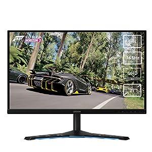 Lenovo Y27q-20 27-inch QHD Monitor (IPS Panel) – Fully Adjustable