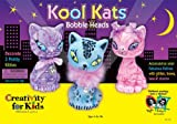 Bobble Head Cat Trio Can Be Decorated And Trimmed With This Delightful Kit!