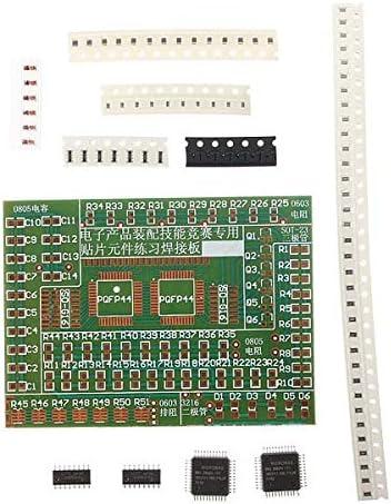 matériaux de haute qualité bons plans 2017 dans quelques jours Doradus Composants cms électroniques kit de plaque de la pratique de  soudure bricolage pour la formation