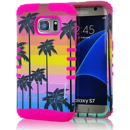 Galaxy S7 Case, Koolkase [Shock Absorb] Hybrid Dual Layer [Heavy Duty] Defender Protective Case Cover for Samsung Galaxy S7 (Cali Sunset) Sales