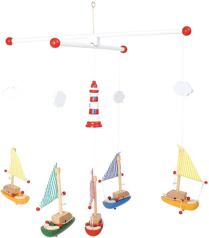 Sailboat and Lighthouse Mobile
