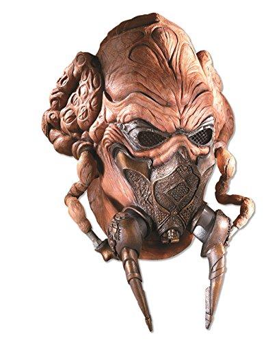 Rubie's Costume Men's Star Wars Deluxe Adult Latex Plo Koon Mask, Multicolor, One (Plo Koon Mask)