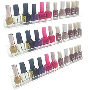 Amazon.com: Acrylic Wall Mount Cosmetics Organizer: Makeup