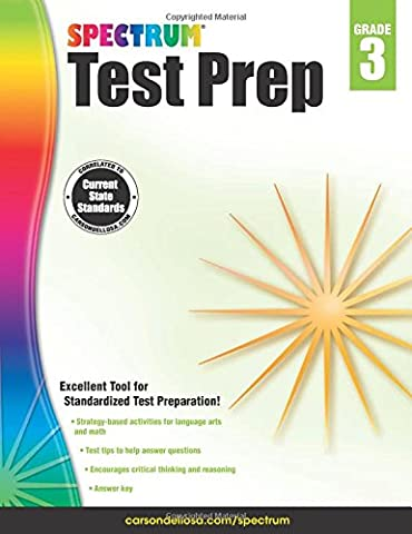 Spectrum Test Prep, Grade 3 (Spectrum Grade 5 Test Prep)