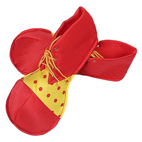 Honeystore Unisex Adult Jumbo Large Clown Shoes Halloween