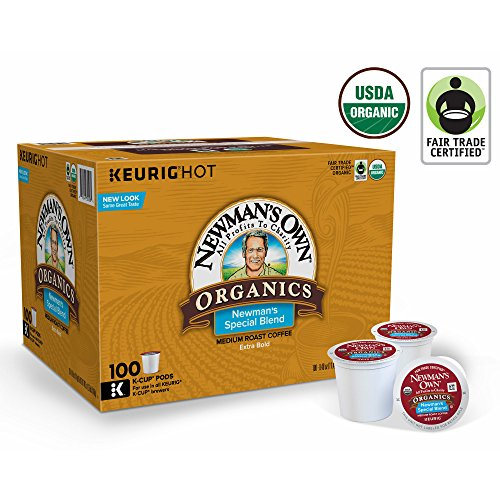 Newman's Own Organics Special Blend Extra Bold K-Cups, 100 ct. (pack of 6) by Newman's Own