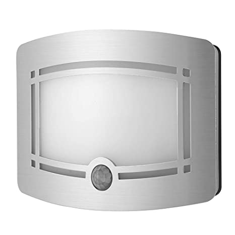 Amazon.com: Sensor de movimiento LED de pared Sconce, luz ...