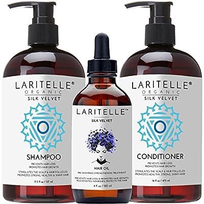Laritelle Organic Hair and Body Care Set Silk Velvet