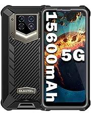 OUKITEL WP15 (2021) Outdoor mobiele telefoon 15600 mAh Android 11.0 smartphone zonder contract 8GB + 128GB IP68/69K 6.52 HD + Mobiles, 5G Dual SIM, 48MP AI camera NFC OTG, GPS 1jaar garantie