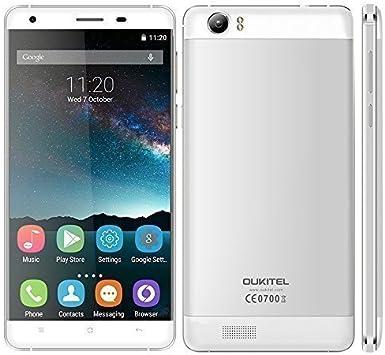 OUKITEL K6000 4G FDD-LTE Smartphone MTK6735 64-bit Quad Core 5.5 ...