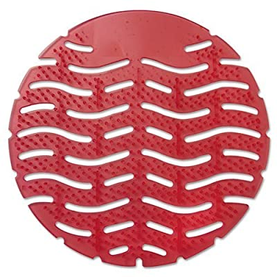 Fresh Products - Wave Urinal Deodorizer Screen, Spiced Apple Scent, Red, 10 per Box - Sold As 1 Box - More freshness and 10 times more fragrance for 30 days.