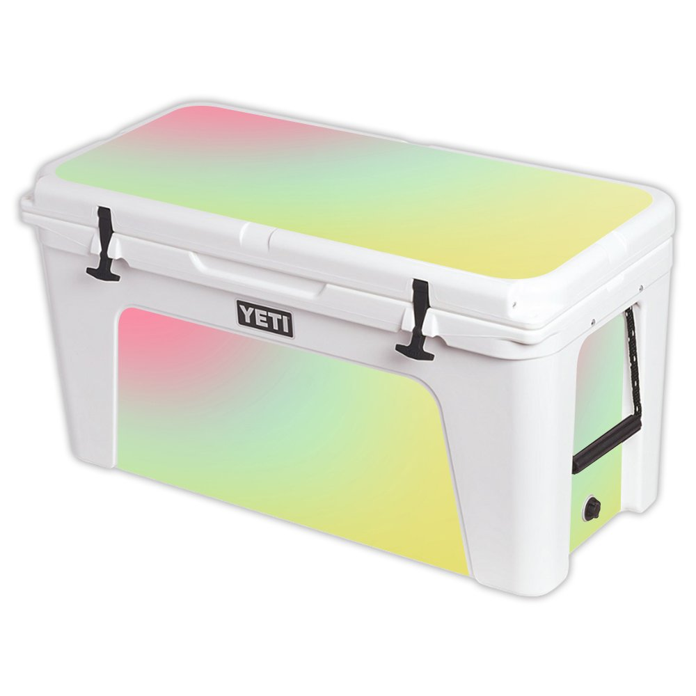 MightySkins Protective Vinyl Skin Decal for YETI Tundra 110 qt Cooler wrap Cover Sticker Skins Berry Blurry