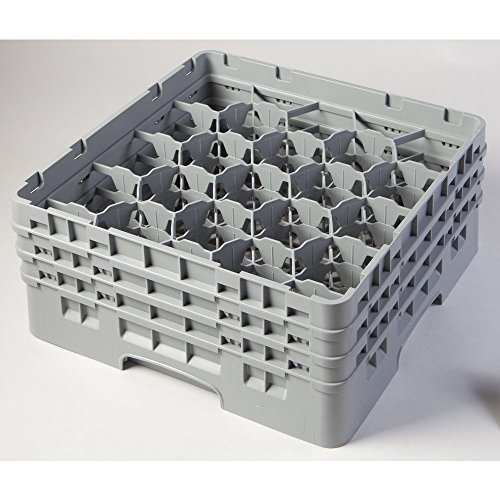 Cambro 20 Compartment Camrack 6 7/8'' Soft Gray by Cambro