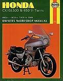 HAYNES 1978-1986 HONDA CX/GL500 & 650 V-TWINS OWNERS SERVICE MANUAL (442)